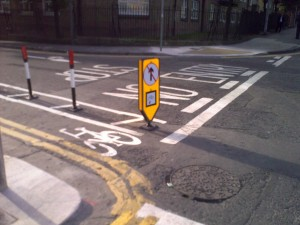 Dublin: Gateway treatment at entrance to one-way street