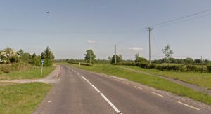 Google streetview screen grab of Tobar to M6 section of the NCN