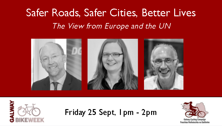Lunchtime webinar / Safer Roads, Safer Cities, Better Lives: The view from Europe and the UN