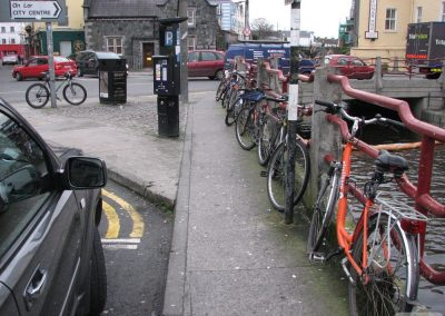 no bike parking dominick st